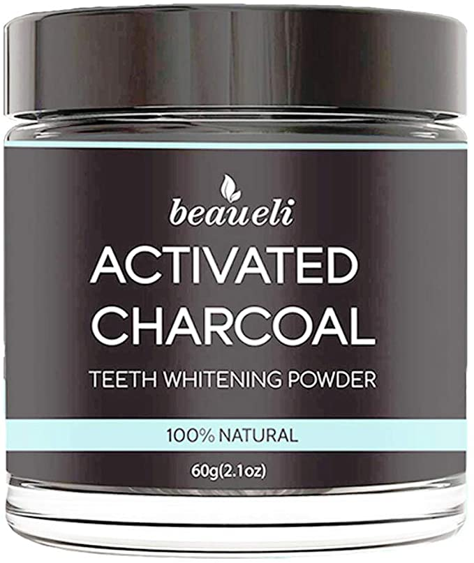 beaueli activated charcoal whitening powder